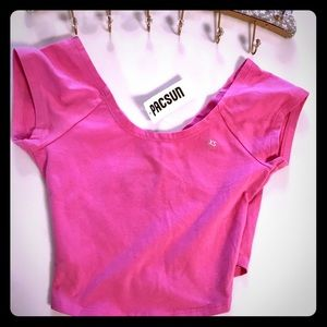 PacSun top hot pink New with Tag Size  XS